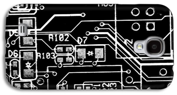 Digital World Galaxy S4 Case by Martin Newman