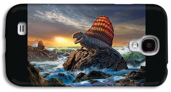 Dimetrodon Galaxy S4 Case by Jerry LoFaro