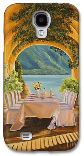 Dining On Lake Como Galaxy S4 Case