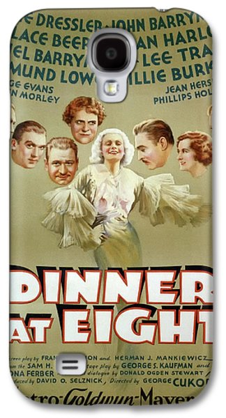 Dinner At Eight 1933 Galaxy S4 Case by M G M