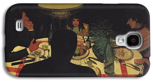 Dinner By Lamplight Galaxy S4 Case