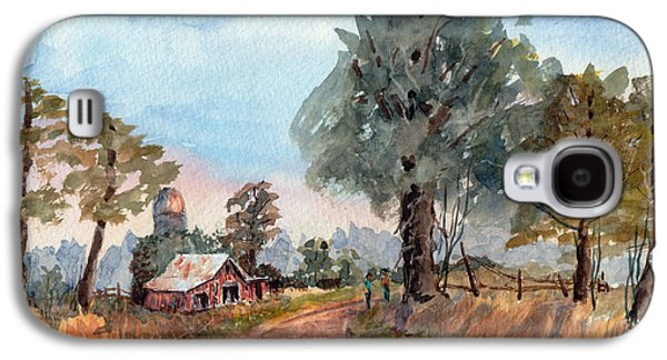 Dirt Road Farm - Watercolor Galaxy S4 Case