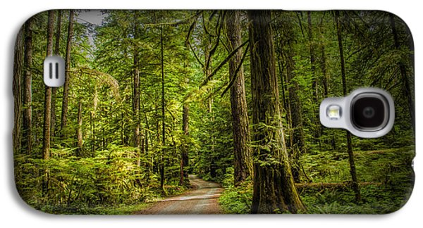 Dirt Road On Vancouver Island Galaxy S4 Case by Randall Nyhof