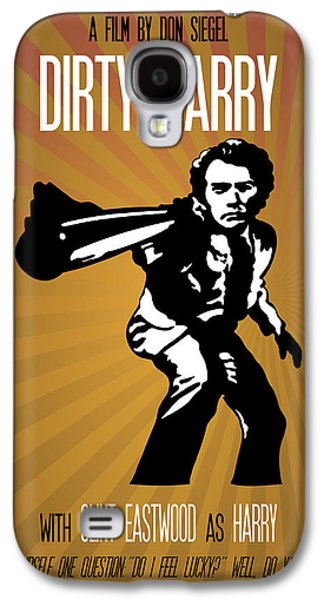 Dirty Harry Poster Clint Eastwood Quote - Do You Feel Lucky? Well, Do Ya, Punk? Galaxy S4 Case