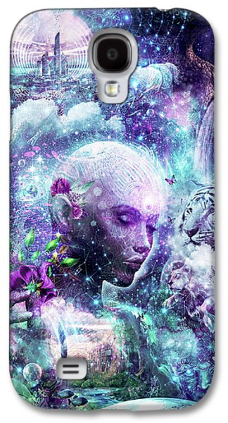 Discovering The Cosmic Consciousness Galaxy S4 Case