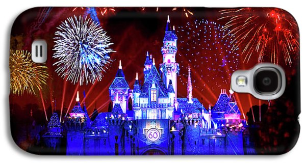 Disneyland 60th Anniversary Fireworks Galaxy S4 Case