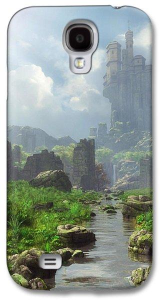 Distant Castle Galaxy S4 Case by Cynthia Decker