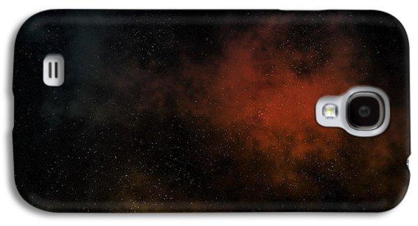 Distant Nebula Galaxy S4 Case