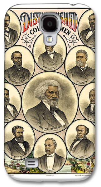 Distinguished Colored Men   1883 Galaxy S4 Case by Daniel Hagerman
