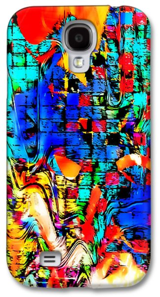 Distortion Galaxy S4 Case by Tom Gowanlock