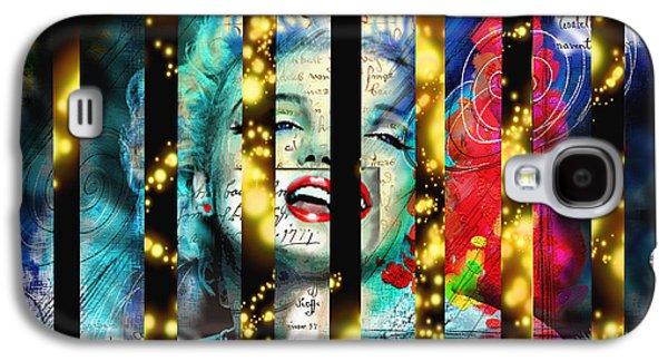 Diva A Star In Stripes Galaxy S4 Case by Theo Danella