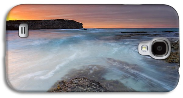 Kangaroo Galaxy S4 Case - Divided Tides by Mike  Dawson
