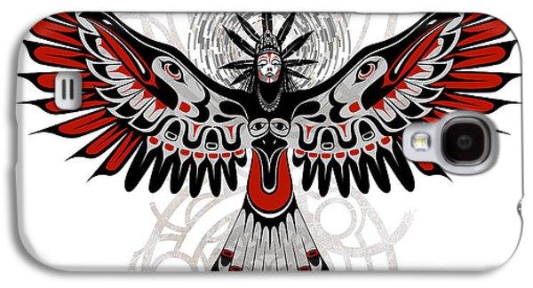 Raven Galaxy S4 Case - Divine Crow Woman by Sassan Filsoof