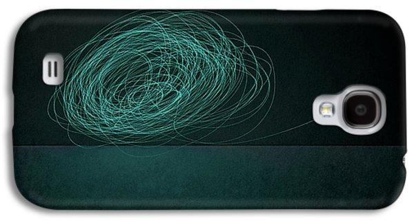 Dizzy Moon Galaxy S4 Case by Scott Norris