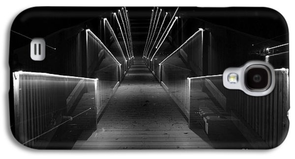 Dock Night Lights Galaxy S4 Case by Skip Willits