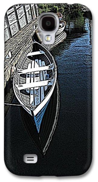 Dockside Quietude Galaxy S4 Case by Tim Allen