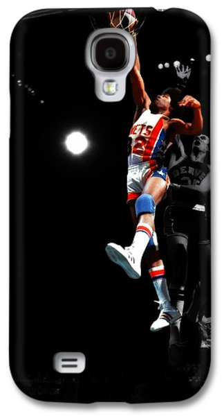 Doctor J Over The Top Galaxy S4 Case by Brian Reaves