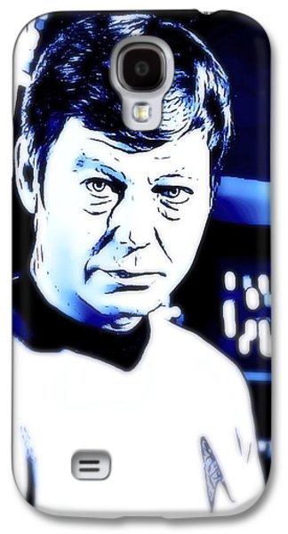 Doctor Leonard Mccoy Star Trek Galaxy S4 Case