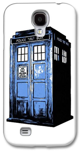 Doctor Who Tardis Galaxy S4 Case by Edward Fielding