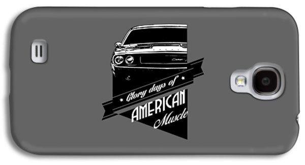 Dodge Challenger Muscle Galaxy S4 Case by Paul Kuras