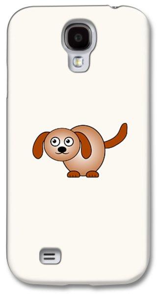 Dog - Animals - Art For Kids Galaxy S4 Case
