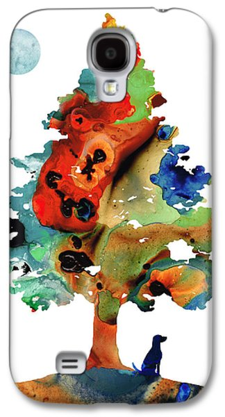 Dog Art - Contemplation 2 - By Sharon Cummings  Galaxy S4 Case by Sharon Cummings