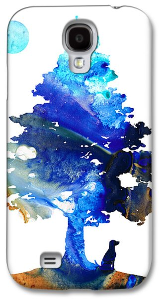 Dog Art - Contemplation - By Sharon Cummings Galaxy S4 Case