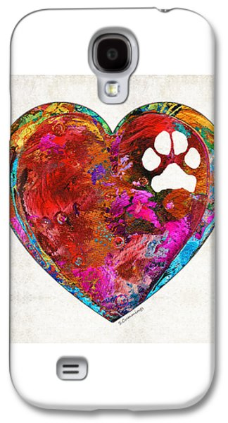Dog Art - Puppy Love 2 - Sharon Cummings Galaxy S4 Case