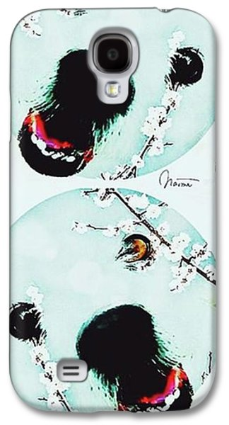 Dog Blossoms  Galaxy S4 Case