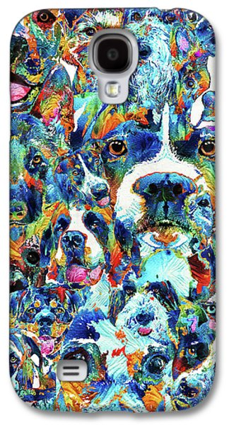 Dog Lovers Delight - Sharon Cummings Galaxy S4 Case by Sharon Cummings