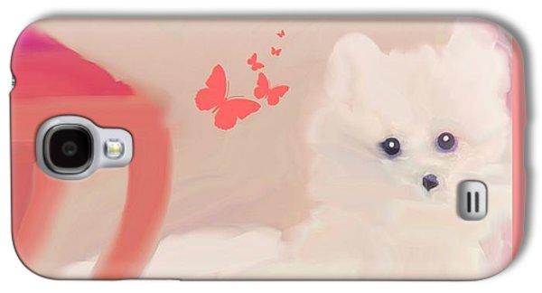 Doggie Art  My Love Galaxy S4 Case by Sherri's Of Palm Springs