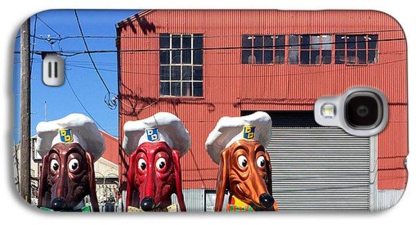 Galaxy S4 Case - Doggie Diner Heads by Julie Gebhardt
