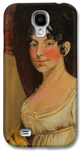 Dolley Madison Galaxy S4 Case by Jan Mecklenburg