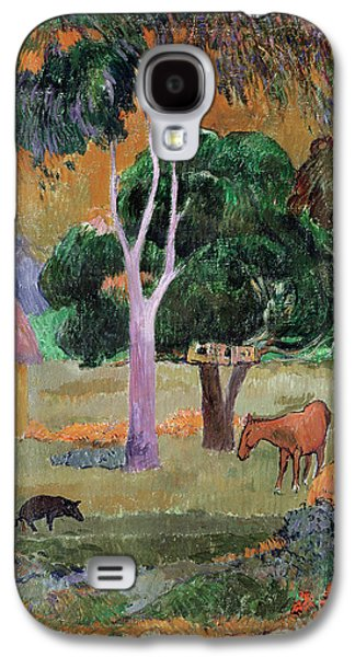Dominican Landscape Galaxy S4 Case by Paul Gauguin