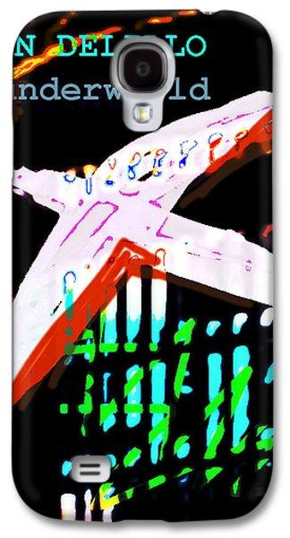Don Delillo Poster Underworld  Galaxy S4 Case by Paul Sutcliffe