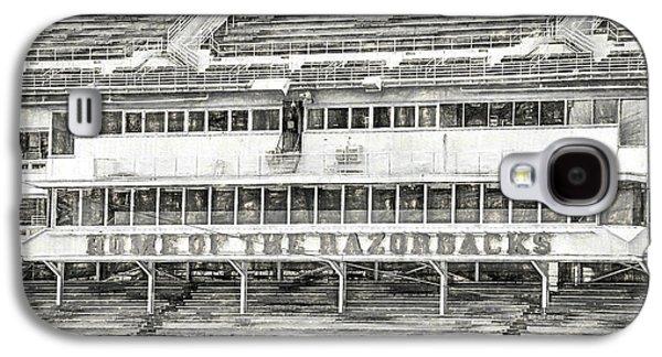 Donald W. Reynolds Razorback Stadium Galaxy S4 Case by JC Findley