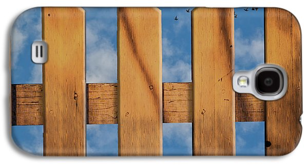 Don't Take A Fence Galaxy S4 Case by Paul Wear