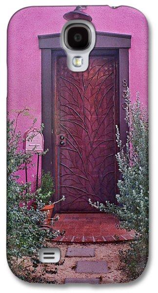 Door And Mailbox - Barrio Historico - Tucson Galaxy S4 Case by Nikolyn McDonald