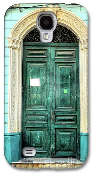 Doors Of Cuba Green Door Galaxy S4 Case by Wayne Moran