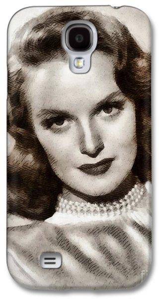 Dorothy Hart, Vintage Actress By John Springfield Galaxy S4 Case