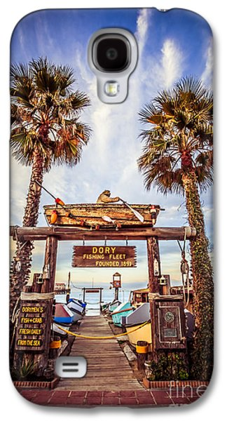 Dory Fishing Fleet Market Picture Newport Beach Galaxy S4 Case by Paul Velgos