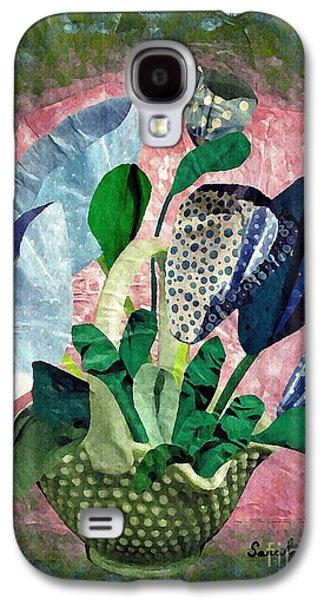 Dot Bouquet Galaxy S4 Case