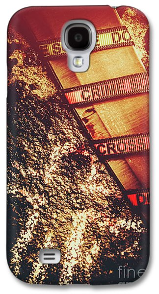 Double Crossing Crime Scene Investigation Galaxy S4 Case by Jorgo Photography - Wall Art Gallery