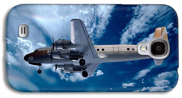 Douglas C-54e - Dc-4, Hk-171 Galaxy S4 Case by Wernher Krutein