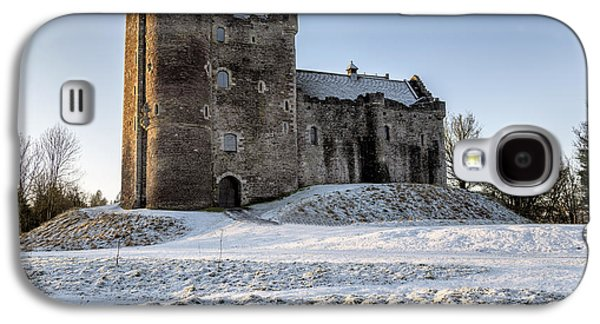 Doune Castle In Central Scotland Galaxy S4 Case by Jeremy Lavender Photography