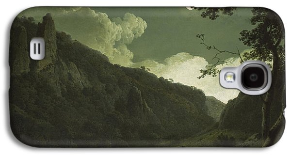 Dovedale By Moonlight Galaxy S4 Case by Joseph Wright of Derby