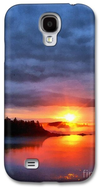 Down East Sunset Maine Galaxy S4 Case