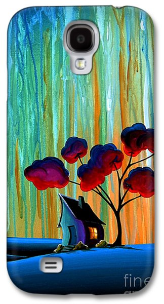 Down In The Valley Galaxy S4 Case by Cindy Thornton