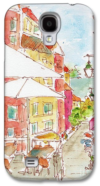 Down Rua Serpa Pinto Lisbon Galaxy S4 Case