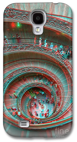 Down Stairs Anaglyph 3d Galaxy S4 Case by Stefano Senise